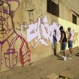 Grand Bivouac 2019 - Graffiti men Beirut