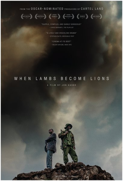 Affiche When lambs become lions Grand Bivouac